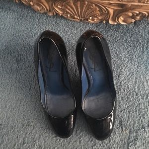 Authentic YSL patent leather pumps
